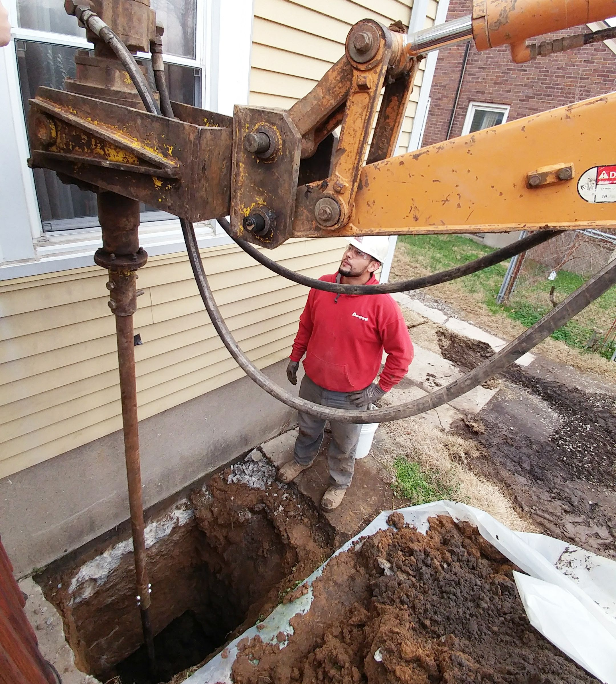 Foundation repair and basement waterproofing services