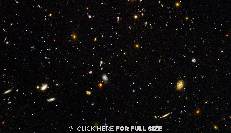 Hubble Ultra Deep Field 4k Wallpaper Hubble Ultra Deep Field Hubble Deep Field Space Telescope