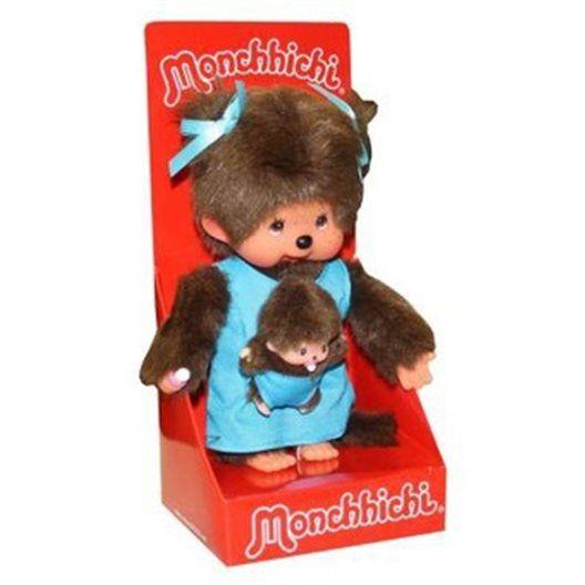 Mončiči Mama s bábätkom 20 cm - Vnímavé hračky 27.90€