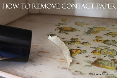 How To Remove Contact Paper In Minutes, How To Remove Contact Paper From Wood Cabinets