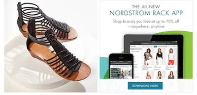 Nordstrom Launches Dedicated Web and Mobile Site for the Rack