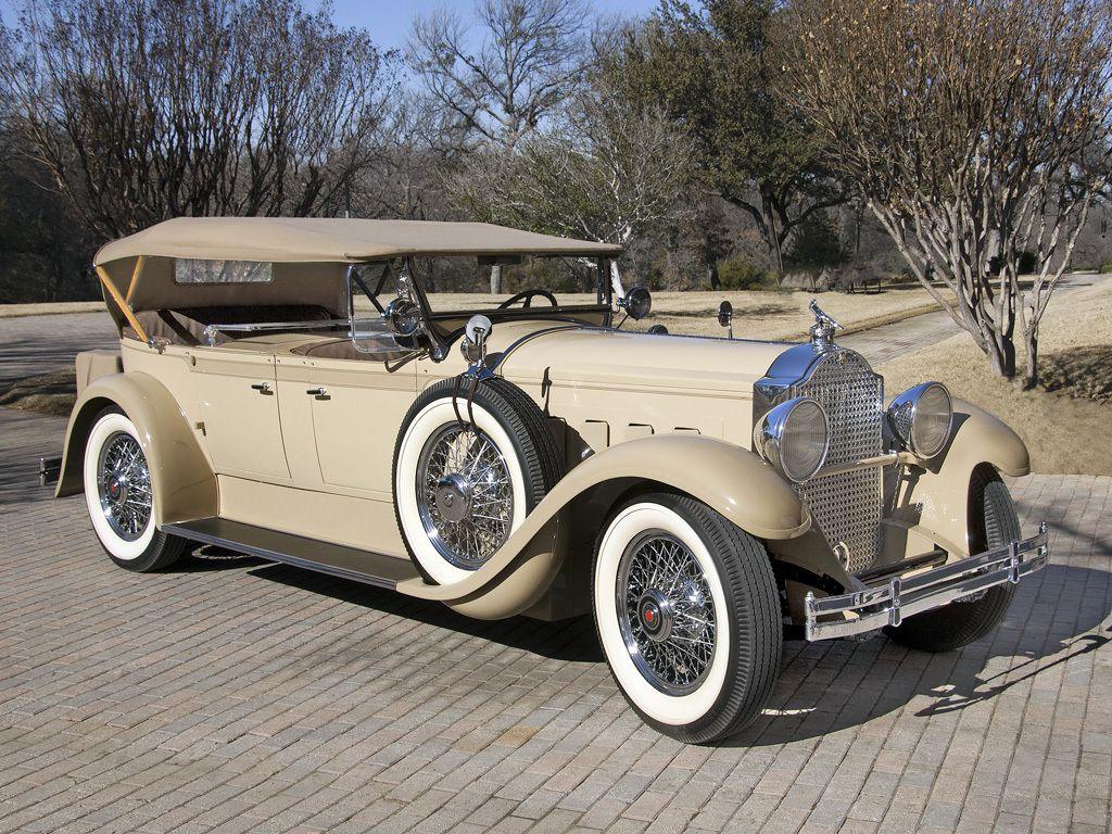1929 Packard Custom Eight Dual Cowl Phaeton | Classic Cars #3 ...