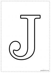 j abecedario letras grandes imprimir mayúsculas bby shower