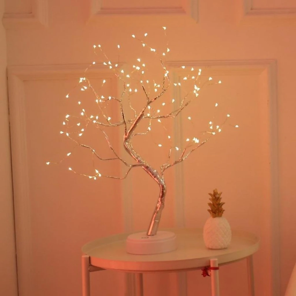 The Fairy Light Spirit Tree Sparkly Trees In 2020 Tree Lamp Fairy Lights In Trees Fairy Lights