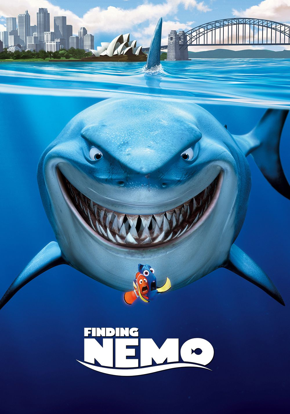 Finding Nemo (2003) #movieposter #3dcartoon