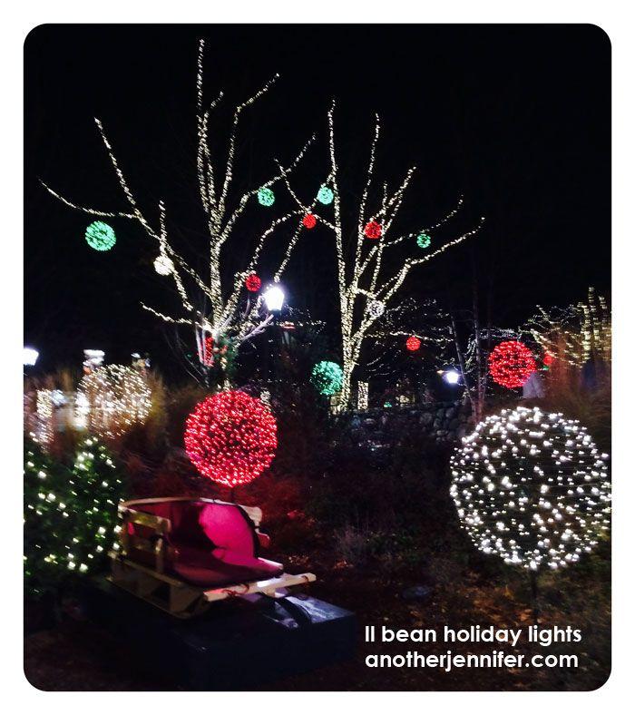 wordless wedensday: ll bean holiday lights | Holiday ...