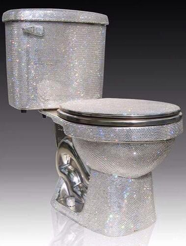 Diamond Toilet Luxury Toilet Cool Toilets Bling