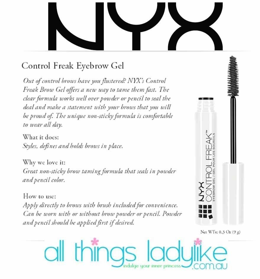 Control Freak Eyebrow Gel by NYX Professional Makeup #8