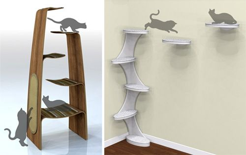 diy cat tree | ... cat products, cat toys, cat furniture, and more…all with modern
