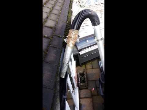 High Level Gutter Cleaning System By Www Brentcleaners Org Uk Cleaning Gutters Gutter Repair Gutter