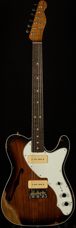 Fender Custom Shop Model Dealer Select Wildwood 10 Thinline Telecaster With P 90stop Finis Telecaster Thinline Fender Custom Shop Fender Custom Shop Telecaster