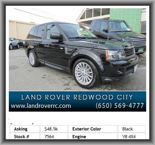 2011 Land Rover Range Rover Sport Hse Suv Dual Reverse Tilt Mirrors Abs And Driveline Traction Land Rover Tire Pressure Monitoring System Range Rover Sport