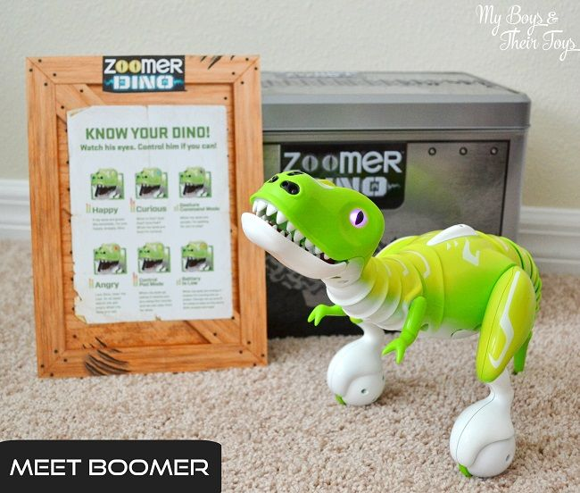 Zoomer Dino Boomer - The Coolest Dinosaur Toy - My Boys ...