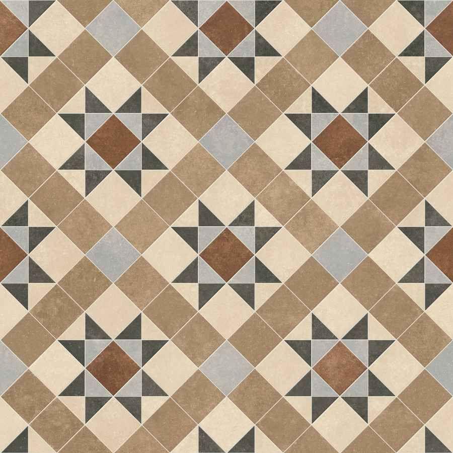 Tessellated Victorian Geometric Vinyl Flooring Era Brindley Vinyl Flooring Victorian Tiles Tile Effect Vinyl Flooring