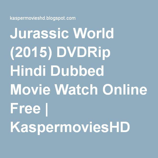 Jurassic World Hindi Movie 1080p Download