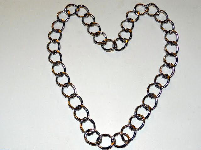 5 Minute DIY ~ Chunky Chain Necklace