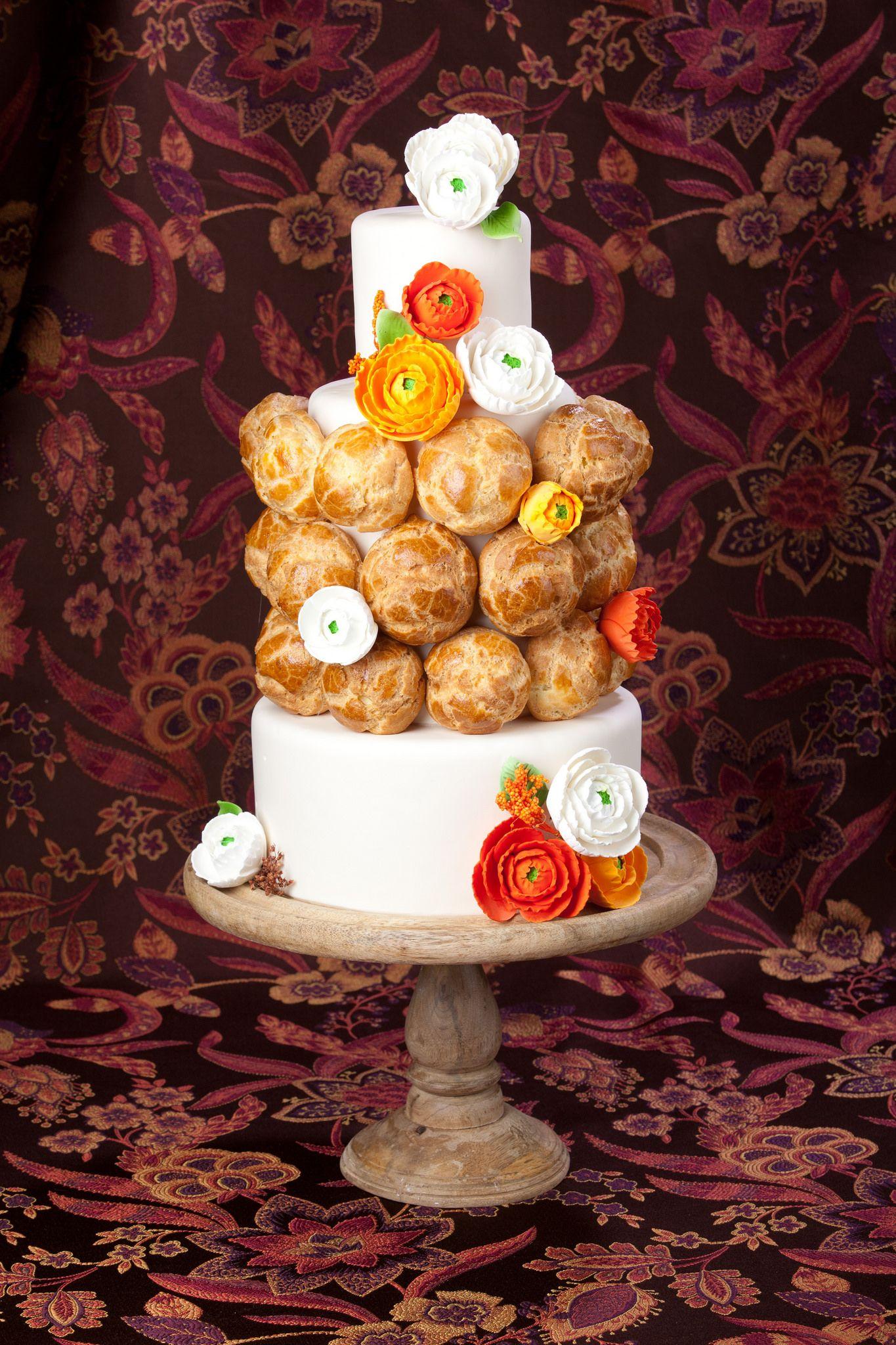 Pastry love   Wedding cake by  Bombon Cake Gallery   ©Edward Fox Photography