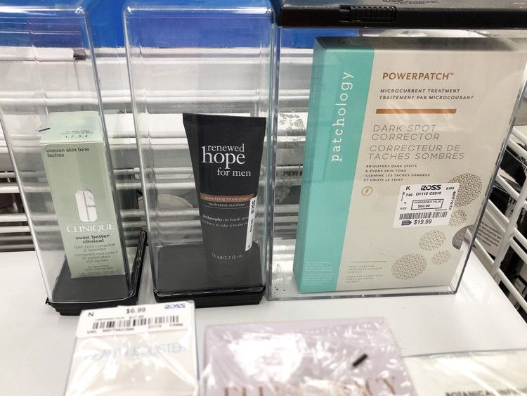 39252f7c562819 Clinique and Patchology products cheaper at Ross than Sephora and Ulta