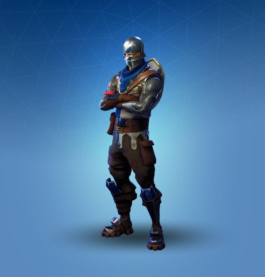 Fortnite Season 2 Account Blue Squire Royale Knight Og Skins Fortnite Squire Knight