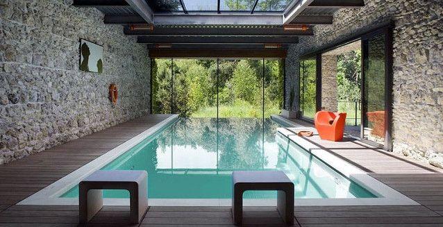20 Stunning Indoor Infinity Pool Designs | Swimming Pool ...