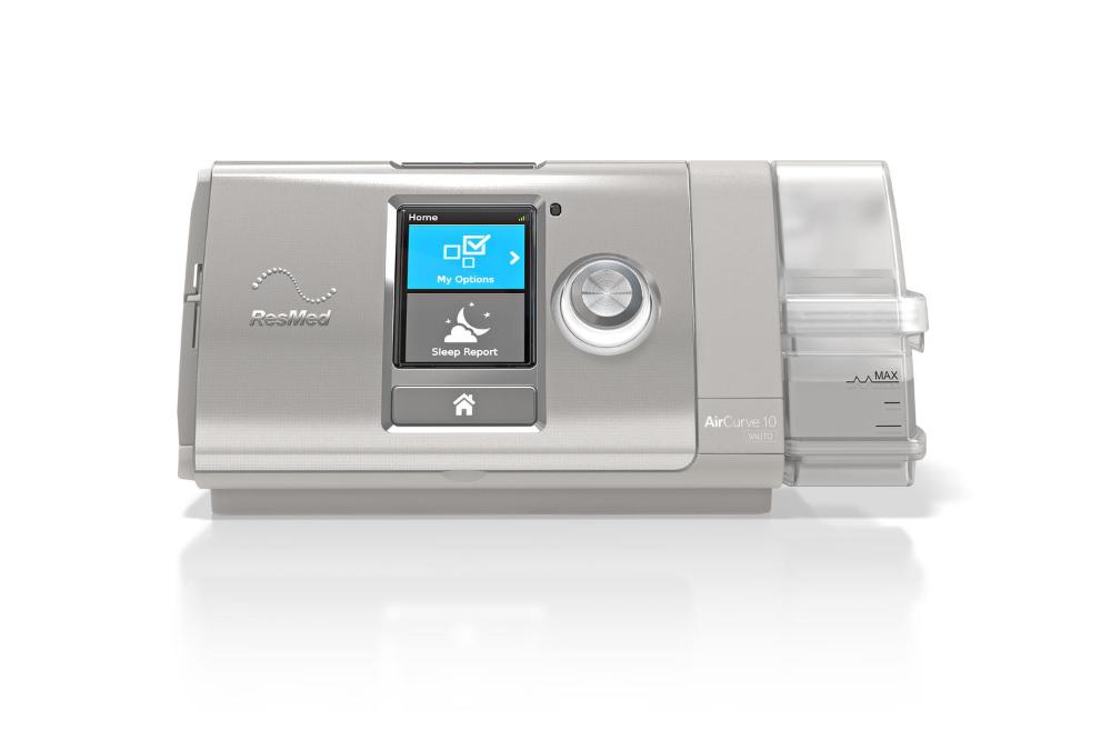 Resmed Aircurve 10 Vauto W Humidair Humidifier Sleep Apnea Devices Sleep Apnea Machine Cure For Sleep Apnea