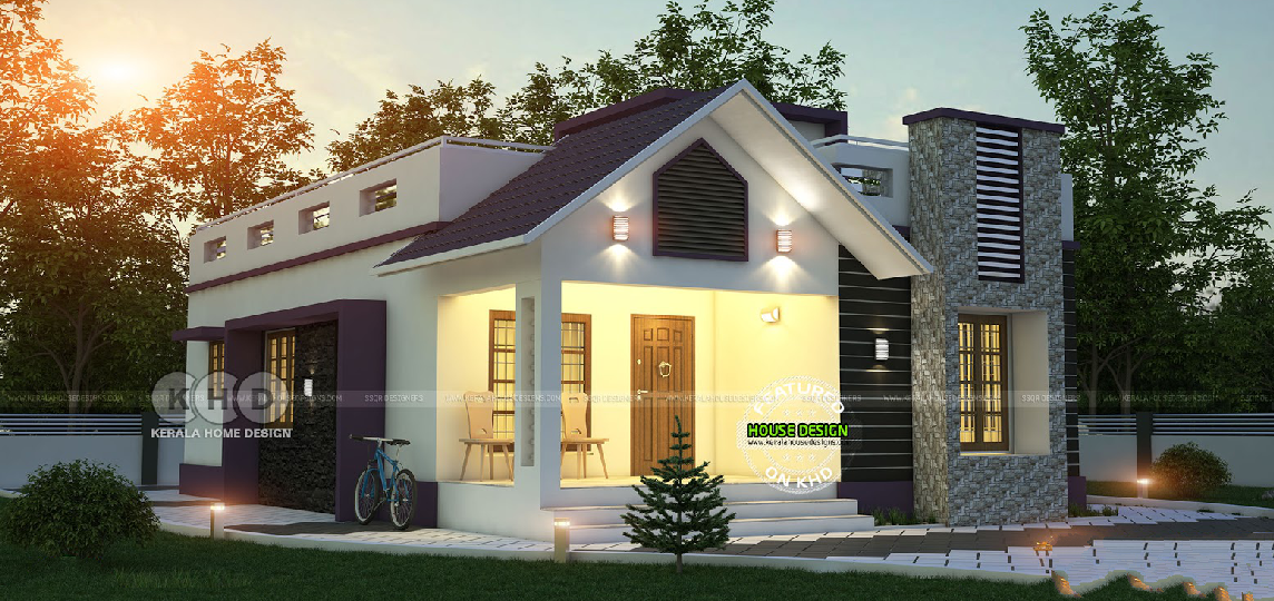 Simple 2 Bedroom Floor Plan With Roof Deck Amazing Architecture Magazine Rumah Minimalis Rumah Minimalis
