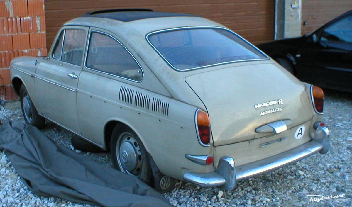 For sale - VW 1600 TL 1968 automatic, EUR 2300 | VW Fastback