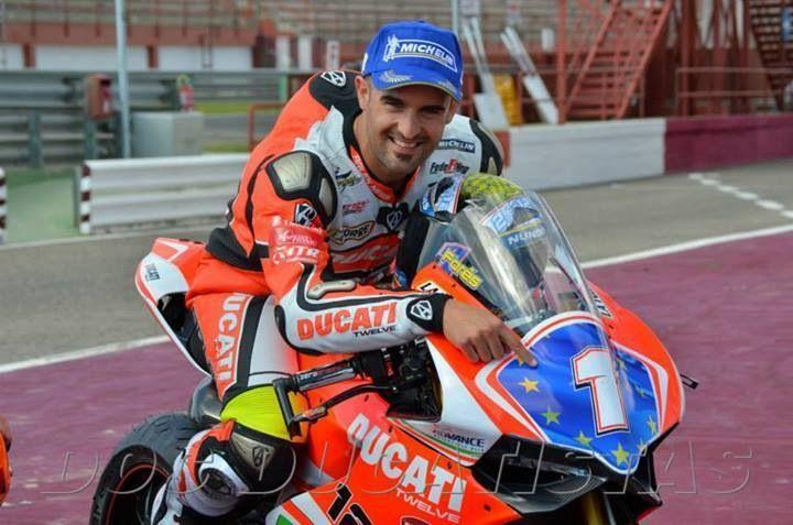 Xavi Forés Campeón Europeo 2013. Ducati Panigale