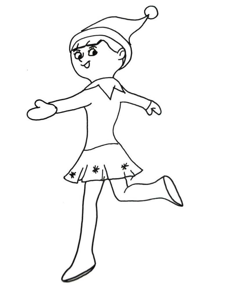 Collection Of Elf On The Shelf Coloring Pages Complete Free Coloring Sheets Christmas Coloring Pages Coloring Pages For Kids Coloring Pages For Girls