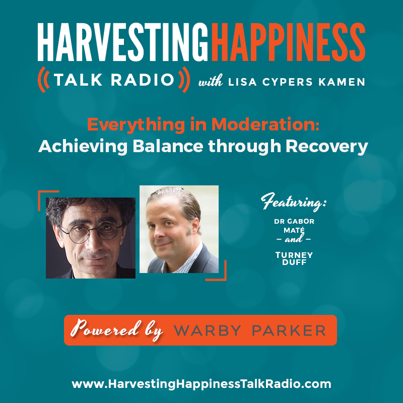 Everything in Moderation: Achieving Balance through Recovery with Gabor Maté & Turney Duff ow.ly/Zmj330baqTb Powered by Warby Parker.