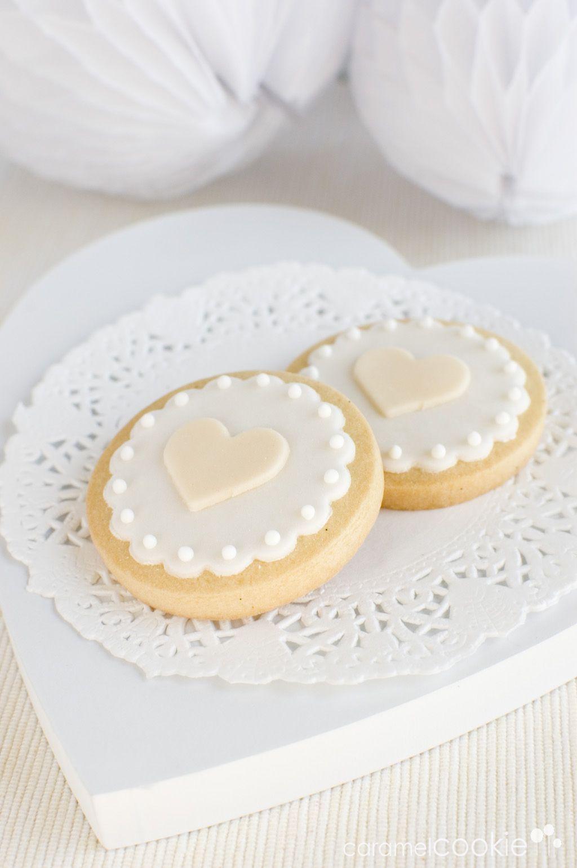 caramel cookie - wedding cookies | galletas boda | Pinterest | Kekse ...