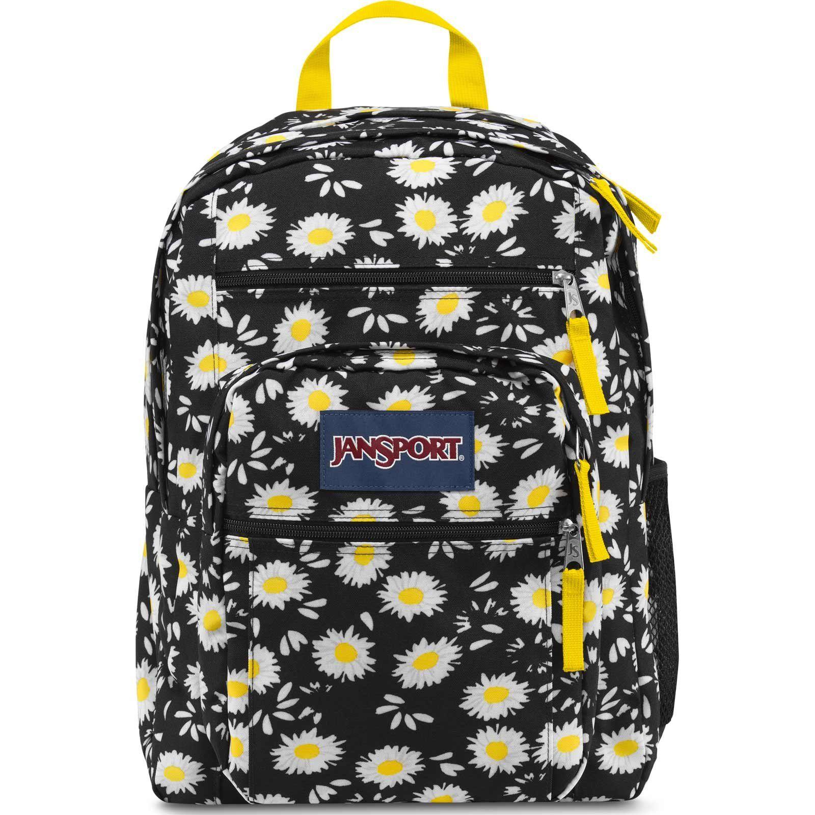 jansport big student backpack black clothing book