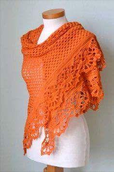 Shawl Crochet Patterns Part 11 - Beautiful Crochet Patterns and Knitting Patterns