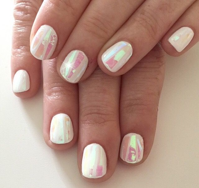 shattered glass nails nailed