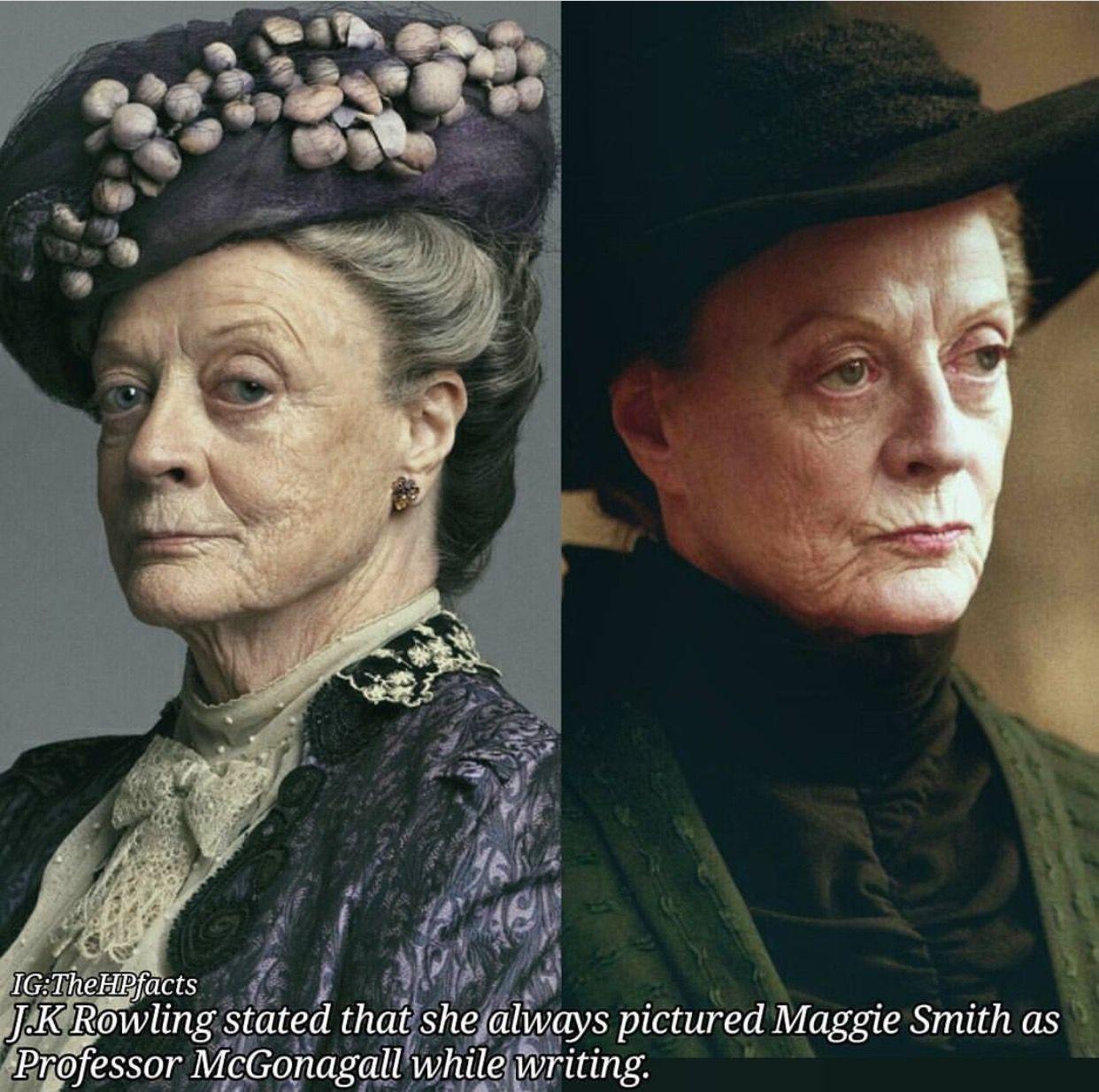 Maggie Smith Maggie Smith Harry Potter Angela Lansbury
