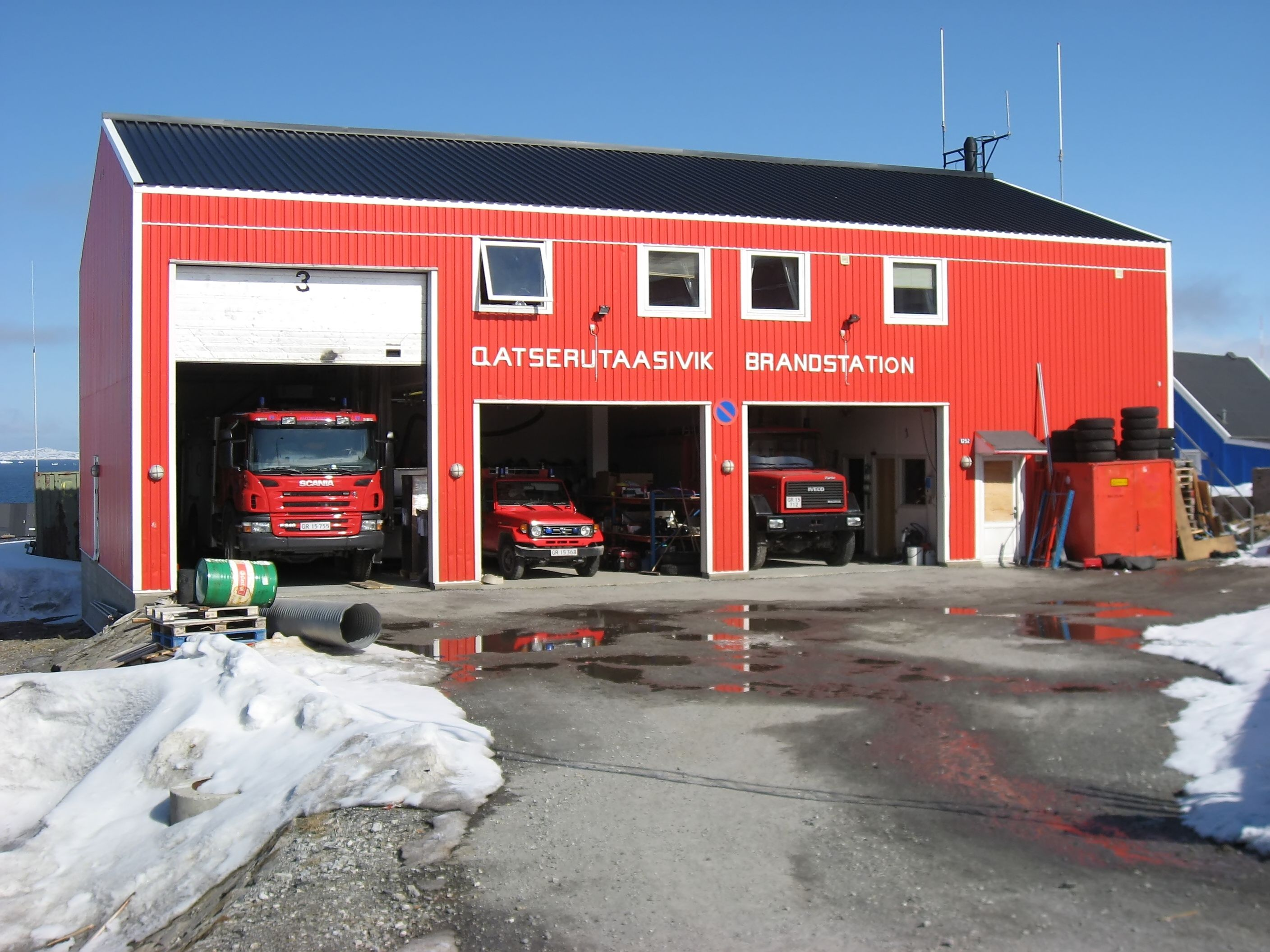 Fire Station In Upernavik Greenland ★。☆。jpm Entertainment