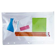 Office Depot Brand Vinyl Storage Pouch
