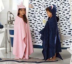 Kids' Hooded Towels   Pottery Barn Kids