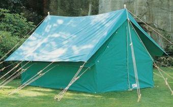 Patrol 14 Canvas Ridge Tent Flysheet and Separators | Scout Shops - 100% profits back & Patrol 14 Canvas Ridge Tent Flysheet and Separators | Scout Shops ...