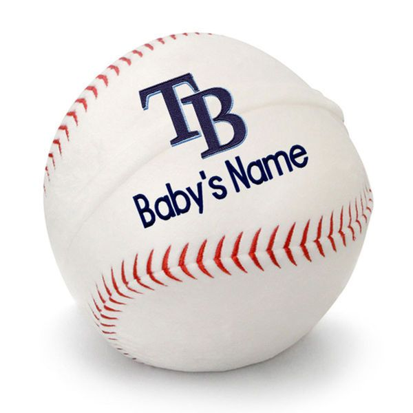 Tampa bay rays personalized plush baby baseball white 4799 boston red sox personalized plush baseball boston red sox at designs by chad jake personalized baby gifts negle Images
