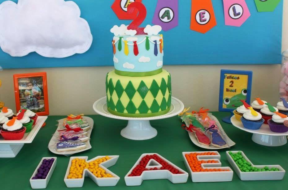 Atencion Atencion birthday cake