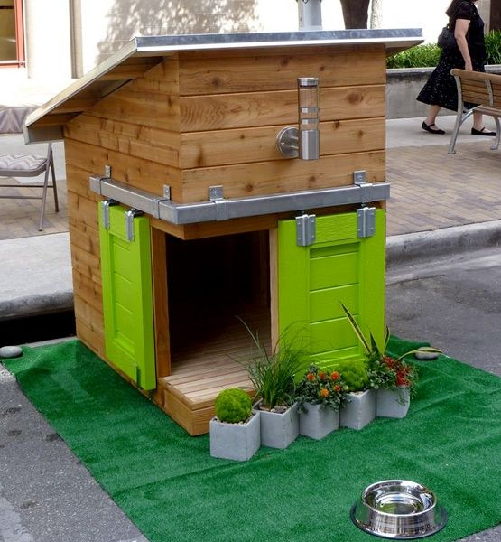 The Most Amazing Doghouses Of All Time Eco Friendly Fido