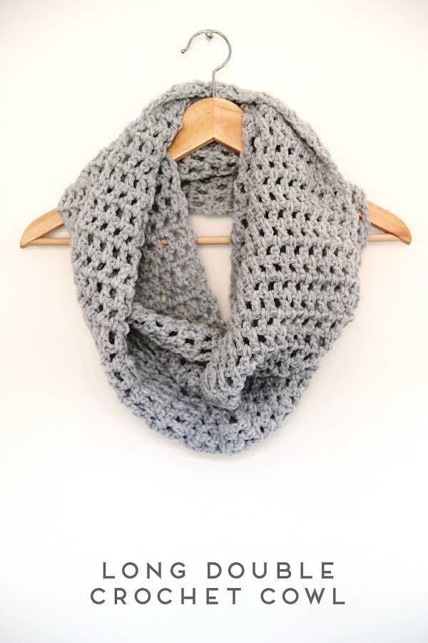 Long Crochet Cowl Pattern