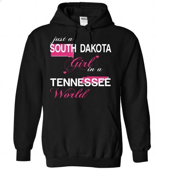 V1-SOUTHDAKOTA-TENNESSEE GIRL - customized shirts #womens tee #logo tee