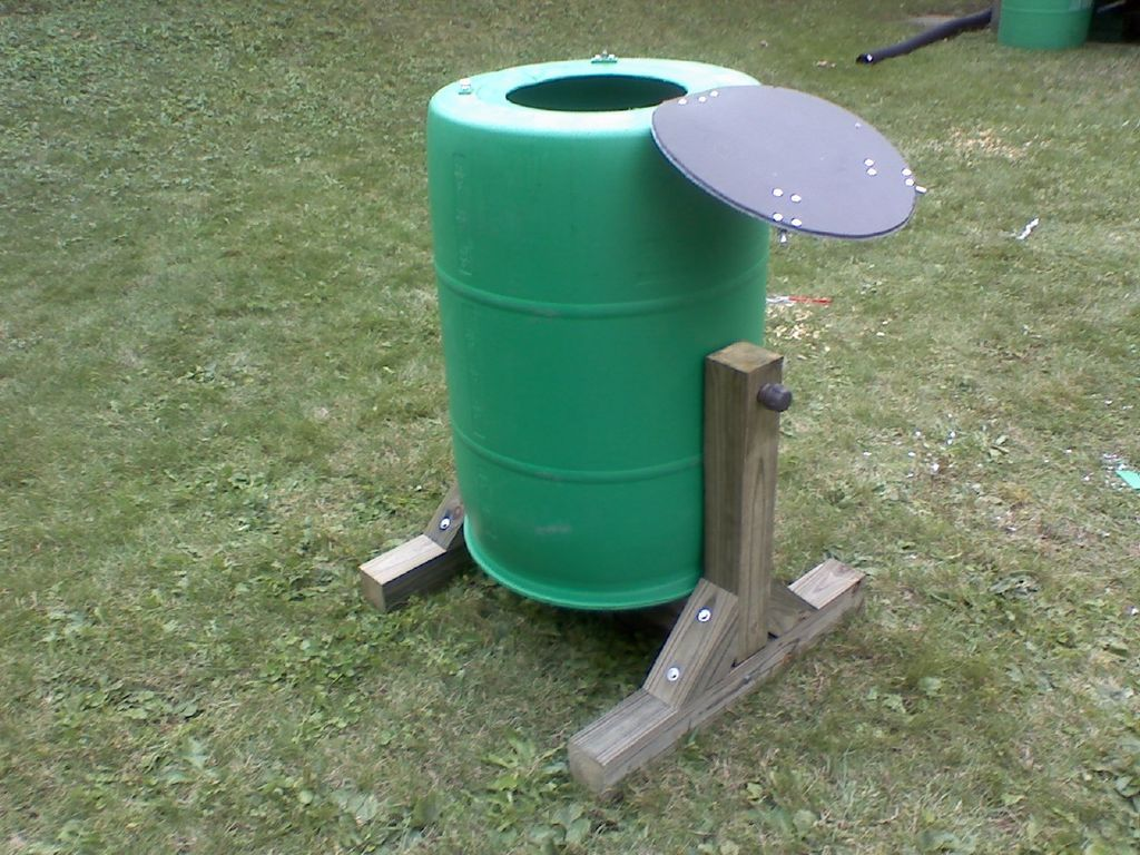 Compost Tumbler | DIY | Pinterest | Composters, Composting and Gardens