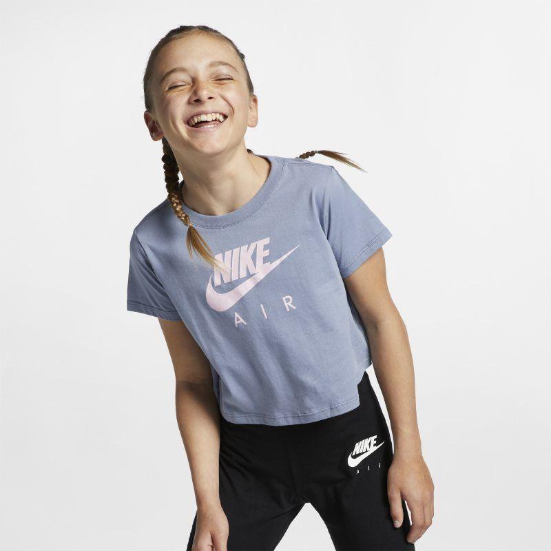 Junior Girls Nike Air Logo T Shirt | Kids t shirts