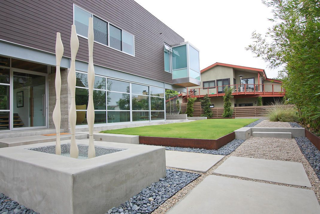 Modern Residential Landscape Architecture Modern Landscaping Contemporary Landscape Mid Century Landscaping