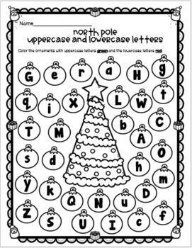 Emergency Sub Plans-Kindergarten A Trip On The North Pole Express!