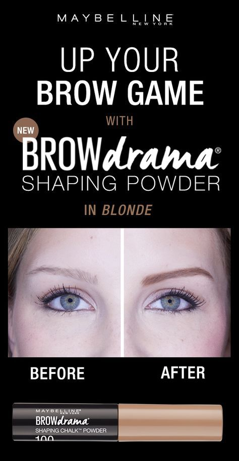 Bring on boldly filled, softly-shaped brows with Maybelline's first ever brow powder. The loose powder formula fills in smooth color, while the thick-to-thin brush applicator creates instant definition. Flawlessly shaped brows are made easy.