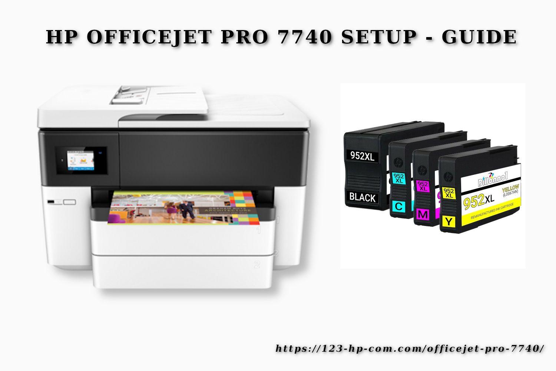 123 Hp Com Ojpro7740 Free 123 Hp Setup 7740 Install Unboxing In 2021 Installation Hp Officejet Hp Officejet Pro